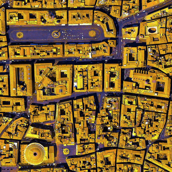 Satellite Image | Satellite Image | Rome Italy