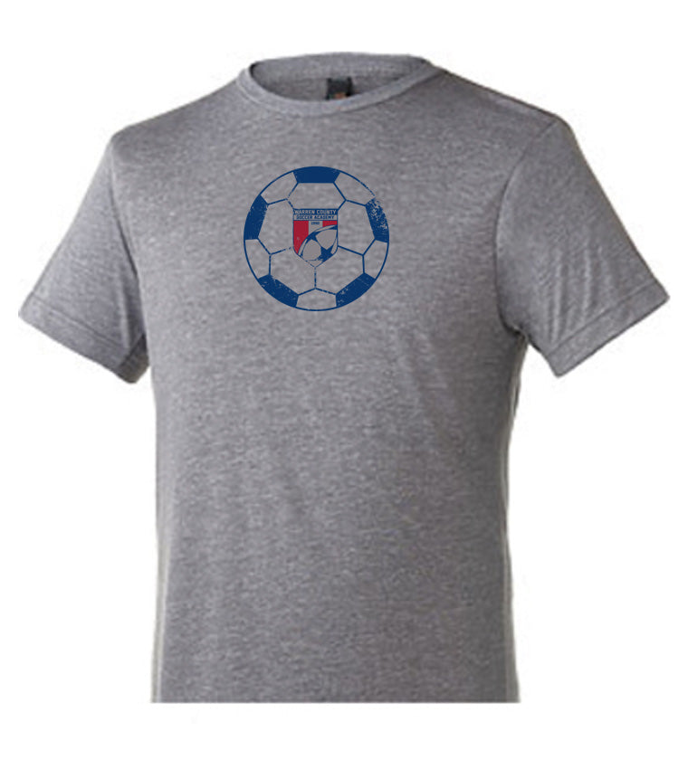 WCSA Ball | Unisex Tri Blend T - Grey