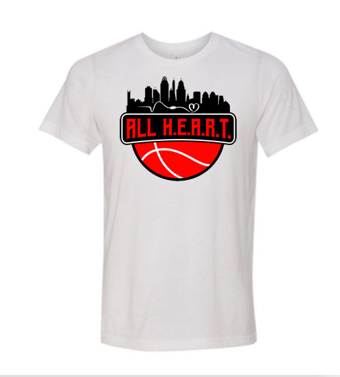 ALL H.E.A.R.T. CITY 2 White Tee