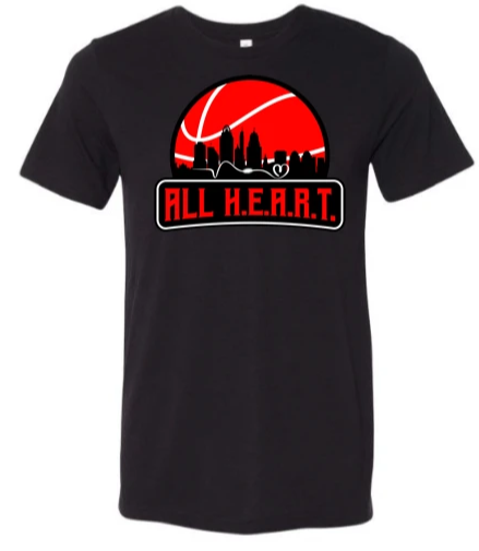 ALL H.E.A.R.T. CITY Black Tee