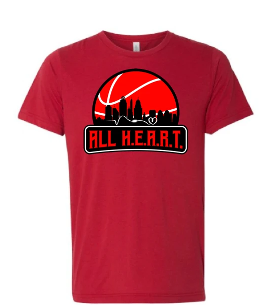 ALL H.E.A.R.T. CITY Red Tee