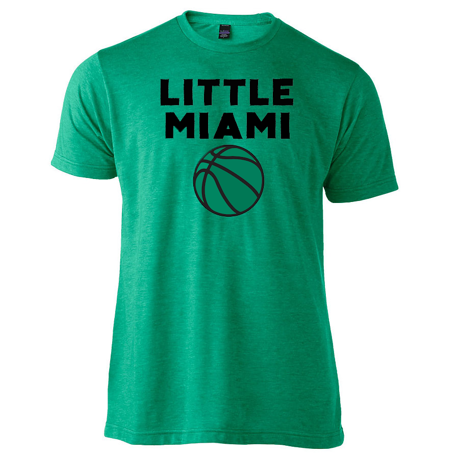 Retro Bold Script. Little Miami Youth Basketball