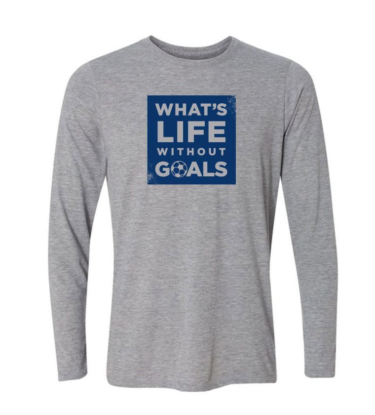 What's Life Without Goals - Youth Long Sleeve T
