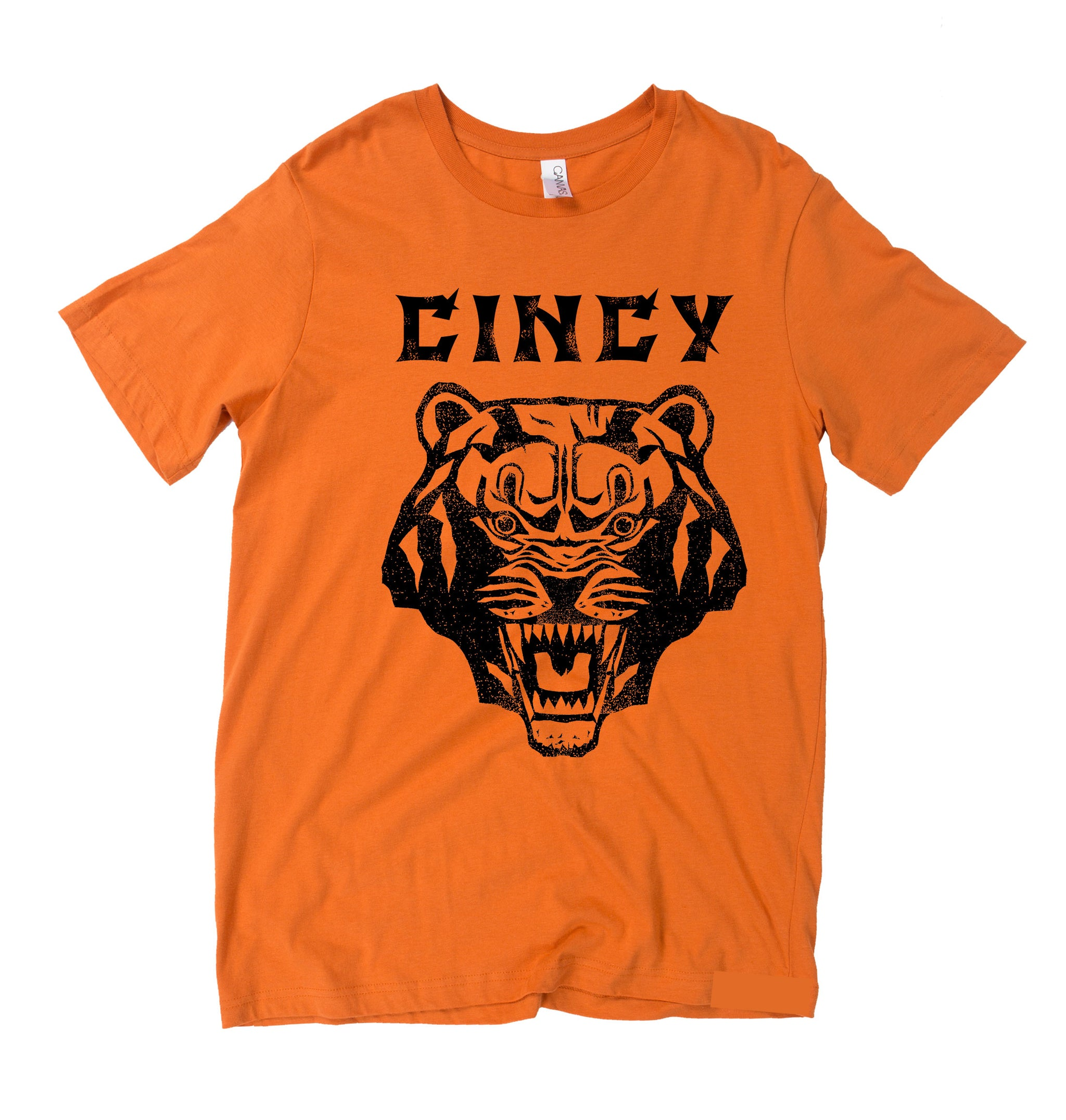 Cincinnati Bengals | Fear The Tiger Orange Super-Soft T-Shirt