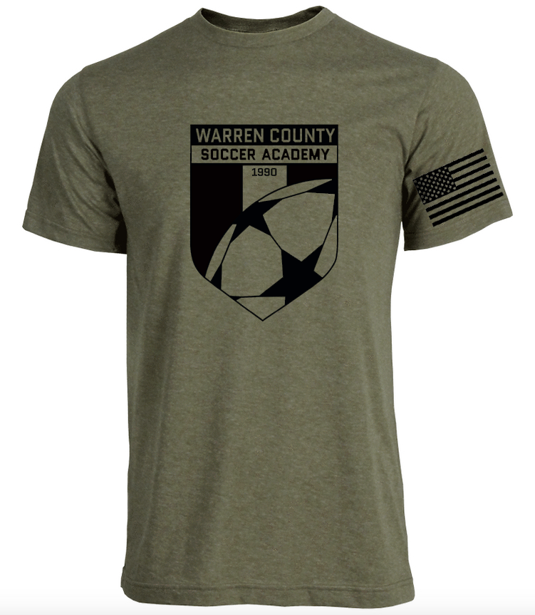 WCSA Battle Plan - Military Green Super Soft Unisex T