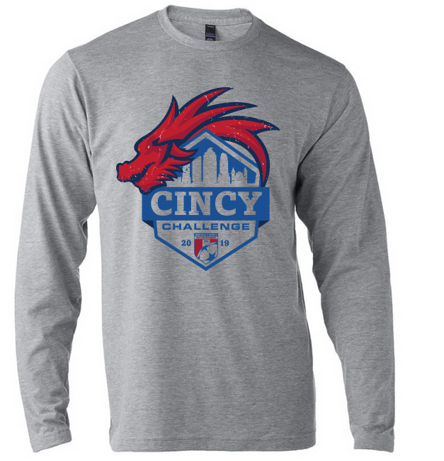 2019 Cincy Challenge Lightweight Long Sleeve Tourney T