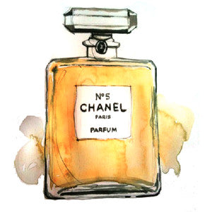 Love Potion Chanel Perfume Banner with Duponi Silk Draping-Coming, 3/1