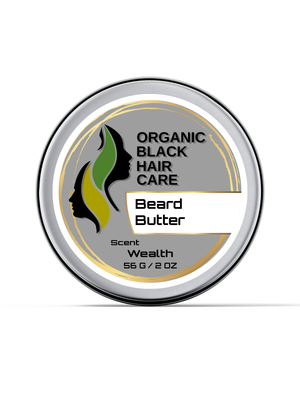 Plant-Based Beard Balm (With Jojoba Butter, Moringa Butter, etc)