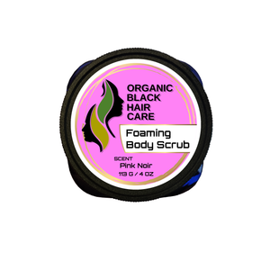 Plant-Based Foaming Body Scrub (With 100% Pure Essential & Fragrant Oils)
