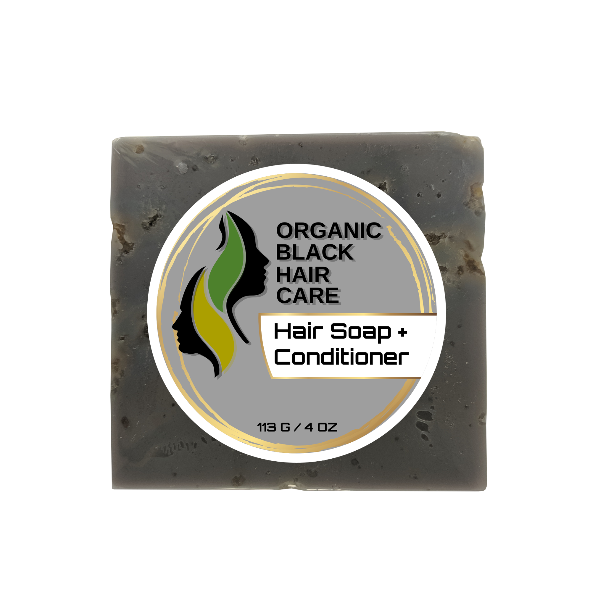 Plant-Based Hair Soap (With Shea Butter, African Black Soap, etc)