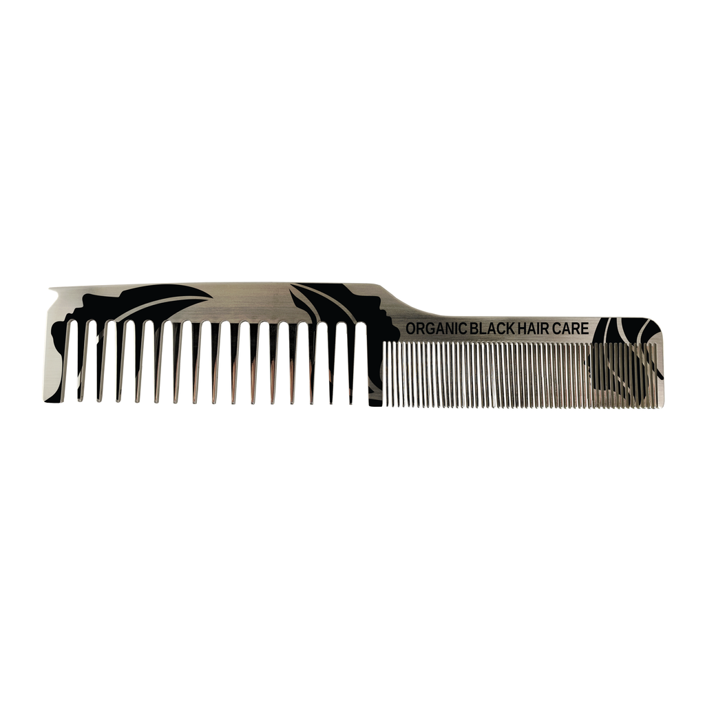 Dual Tooth Stainless Comb Parting Tip