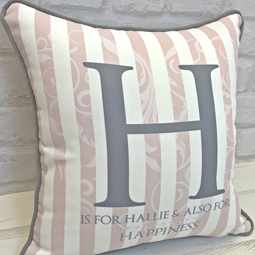 Luxe Initial Cushion - All Things Interior
