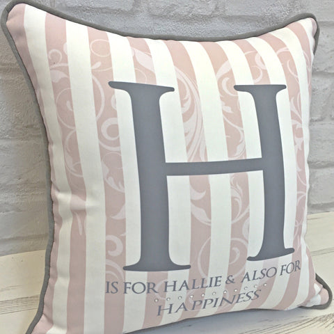 Luxe Initial Cushion