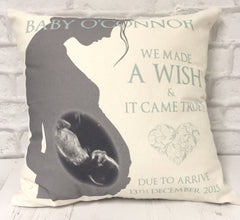 Baby Scan Cushion - All Things Interior