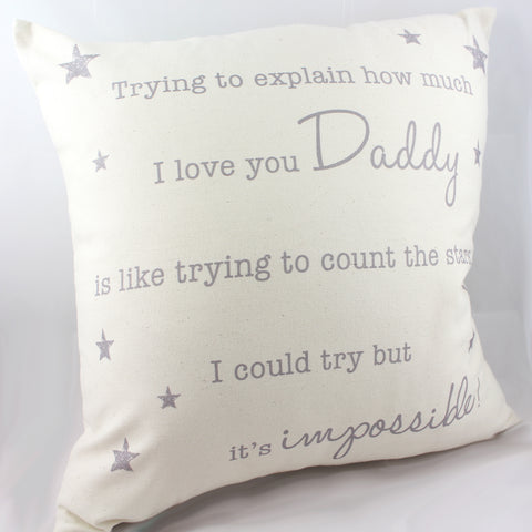 Counting Stars Cushion