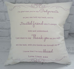 I'm glad that you're my... Cushion - All Things Interior