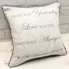 Wedding Ring Cushion - All Things Interior