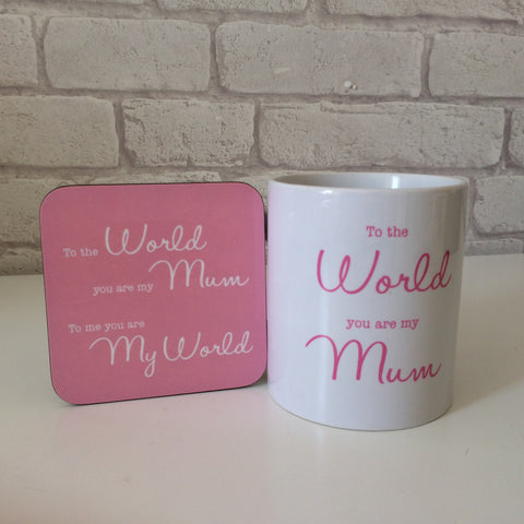 To The World...Mug set