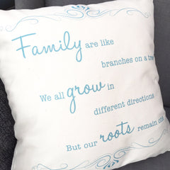 Family are like branches... Cushion - All Things Interior