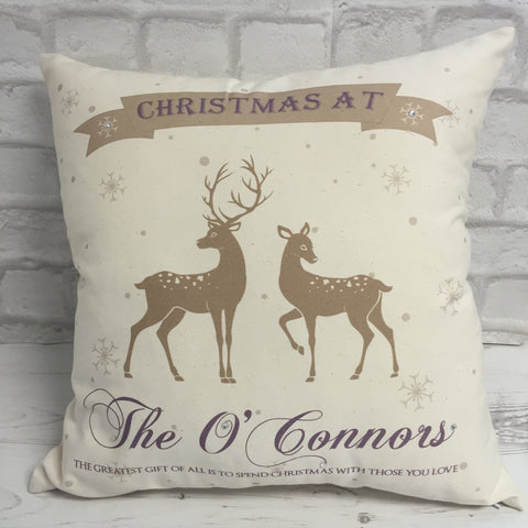 Christmas at... Cushion