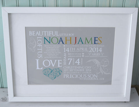 Christening Keepsake