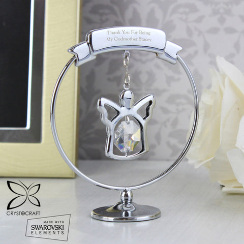 Crystal Ornament with Personalised Message