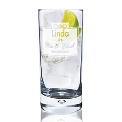 Gin O'Clock Glass - All Things Interior