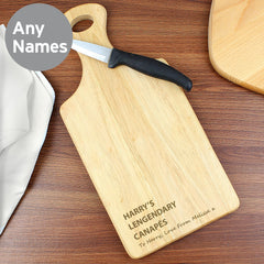 Personalised Wooden Chopping - All Things Interior