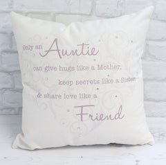 Only An Auntie...Cushion - All Things Interior