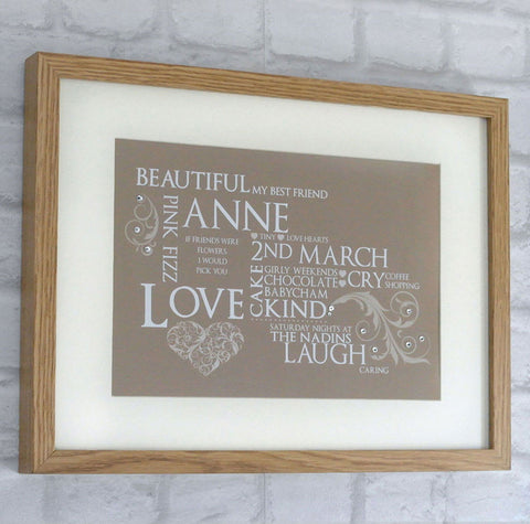 Keepsake Frame - Any Occasion