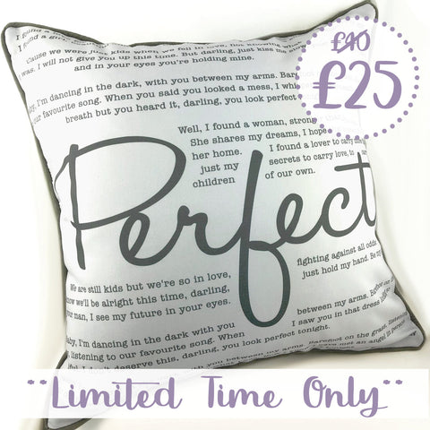 Perfect Luxe Promo Cushion