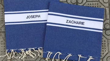Gift idea:personalized fouta !