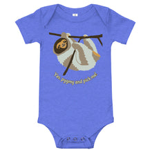 Load image into Gallery viewer, Funny Pygmy sloth onesie, baby, infant, toddler, T-Shirt