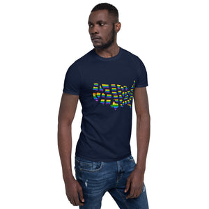 Rainbow Pride, Short-Sleeve Unisex T-Shirt