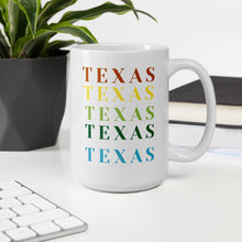 Load image into Gallery viewer, Texas Contour Map Mug