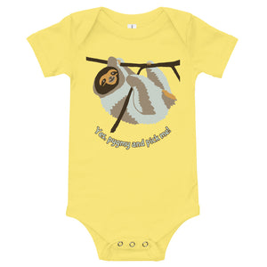 Funny Pygmy sloth onesie, baby, infant, toddler, T-Shirt