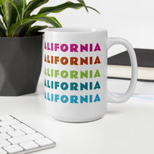 Load image into Gallery viewer, California Contour Map Mug