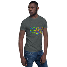 Load image into Gallery viewer, Rainbow Pride, Short-Sleeve Unisex T-Shirt