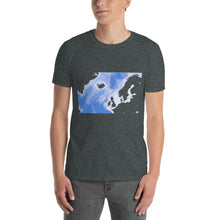 Load image into Gallery viewer, North Atlantic, Ocean sea floor map, Short-Sleeve Unisex T-Shirt