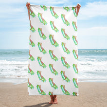 Load image into Gallery viewer, California Beach Towel