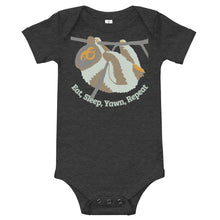 Load image into Gallery viewer, Cute Sloth, baby onesie, toddler bodysuit, T-Shirt
