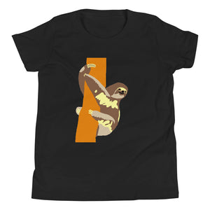 Cute Sloth, Youth Short Sleeve T-Shirt