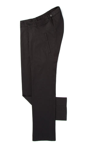 adaptive clothing. black lightweight straight leg chino
