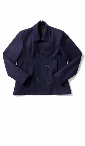 Pea Coat Easy-Zip Back