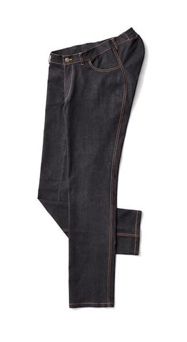 Men's Straight Leg Jeans in Black - Clothes designed with the wheelchair user in mind.