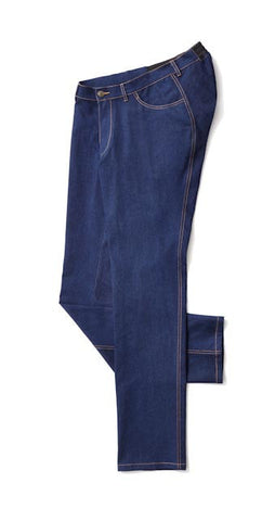Men's Straight Leg Jeans in Blue - Bold new looks in the world of adaptive apparel.