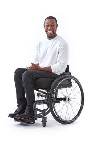 men's straight leg jeans for wheelchair users