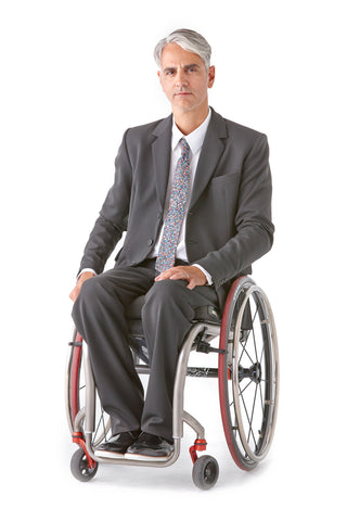 Men's Dress Pant Elastic Waistband - So much more than disability clothing.