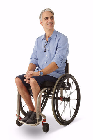 mens shirt, accessible fashion for wheelchair users