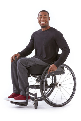 wool cargo pants for wheelchair users